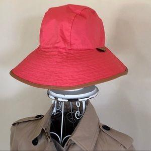 NWOT Coach Rain Hat
